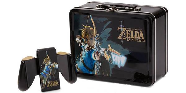 Lunch Box Zelda Breath of the Wild + Auriculares + JoyCon grip + protector