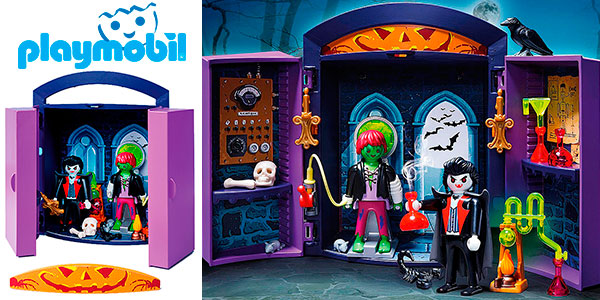 Cofre Casa Encantada de Playmobil con 2 figuras en oferta