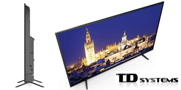 "Smart TV TD Systems K55DLY8US UHD 4K HDR10 de 55"" chollo en Amazon"