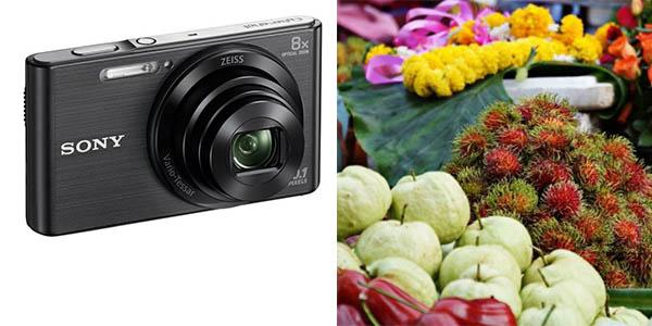 Sony DSC W830 cámara de fotso digital de 20 Mp barata