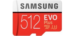 Tarjeta microSDXC Samsung EVO Plus de 512 GB barata