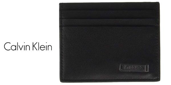 Tarjetero Calvin Klein K50K503571 ANDREW CARDHOLDER barato en Amazon