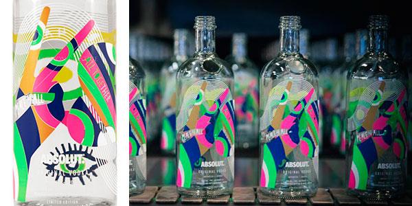 Vodka Absolut World Limited Edition (1000 ml) barato