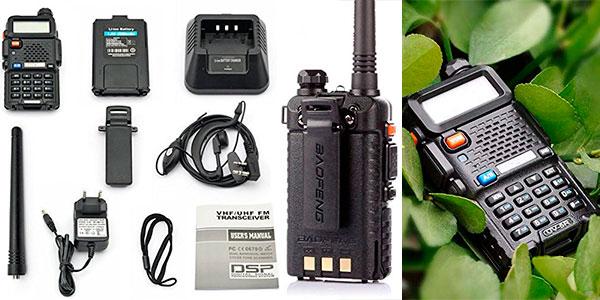 Walkie talkie Baofeng UV-5R barato