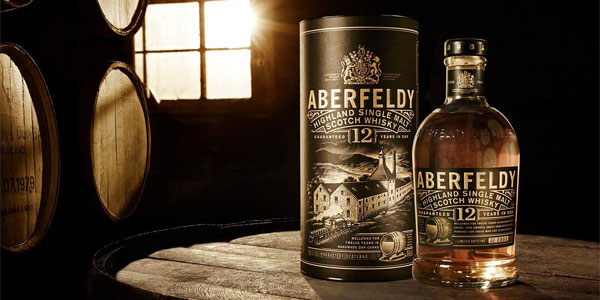 Whisky Escocés Aberfeldy 12 años de 700 ml chollo en Amazon
