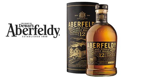 Whisky Escocés Aberfeldy 12 años de 700 ml barato en Amazon