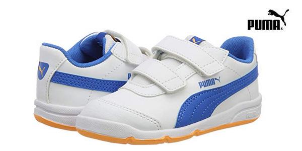 Zapatillas deportivas Puma Stepfleex 2 SL V para niños baratas en Amazon
