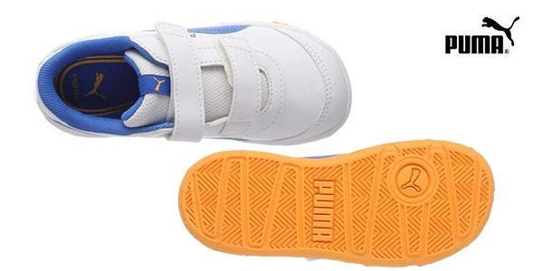 Zapatillas deportivas Puma Stepfleex 2 SL V para niños chollazo en Amazon