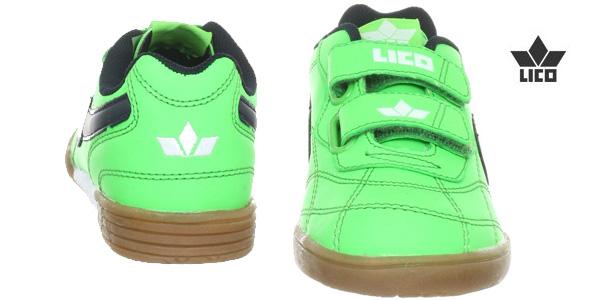 Zapatillas deportivas Lico Bernie V 360322 tallas infantiles verde chollo Amazon