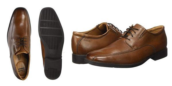 Zapatos Clarks Tilden Walk para hombre en oferta en Amazon