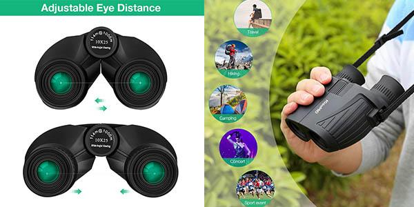 binoculares KidoME lentes BAK4 chollo