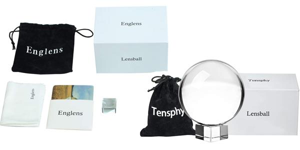 Bola de Cristal con soporte Tensphy K9 barata en Amazon
