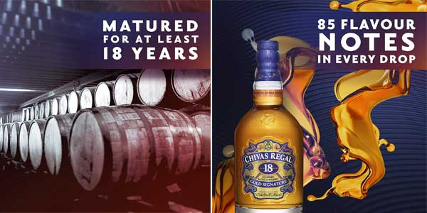 Botella Whisky Chivas Regal Golden Signature18 Años chollazo en Amazon
