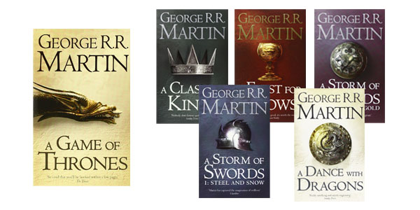 A Game of Thrones: The Story Continues [Export only]: The complete boxset of all 6 books chollazo en Amazon