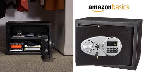 caja fuerte AmazonBasics barata