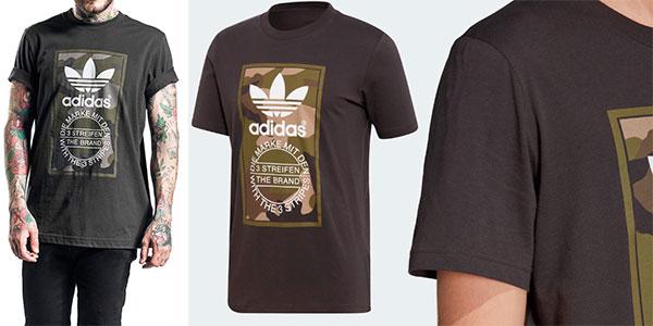 Las mejores ofertas en Adidas Camisetas básico de algodón
