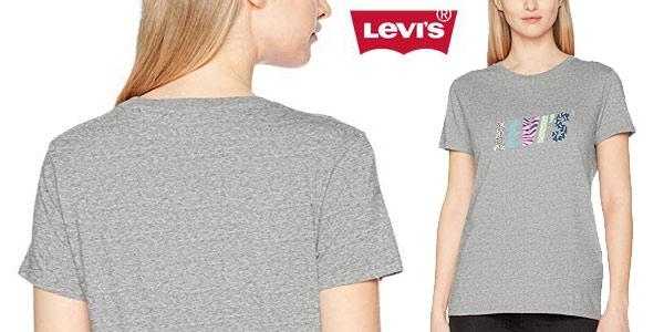 Camiseta manga corta Levi's the Perfect Tee para mujer chollo en Amazon