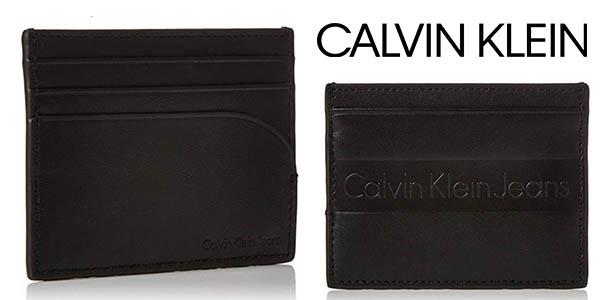 cartera tarjetero Calvin Klein barata