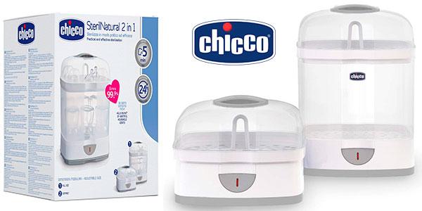 Chollo Esterilizador para biberones Chicco Steril Natural 2 en 1