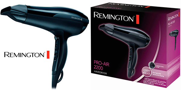 Chollo Secador de pelo iónico Remington Pro Air D5210 de 2.200 W