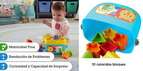 Fisher Price juguete para bebés con bloques de formas y números oferta