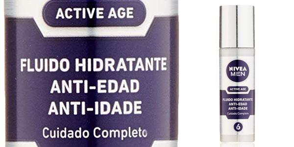 Fluido hidratante NIVEA MEN Active Age para hombre de 50 ml chollo en Amazon