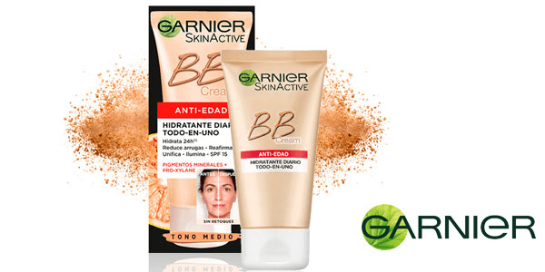 Garnier Skin Active BB Cream Perfeccionador Prodigioso Anti-edad barata en Amazon
