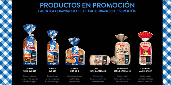 HBO suscripción gratis por la compra de productos de pan Bimbo