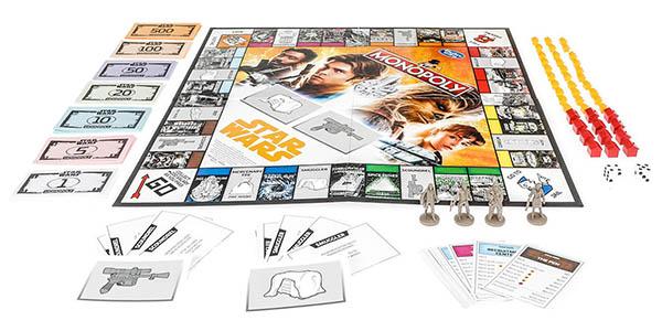 juego Monopoly Star Wars Hans Solo oferta