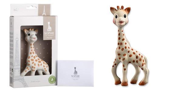 Juguete mordedor Sophie La Girafe con caja de regalo barato en Amazon