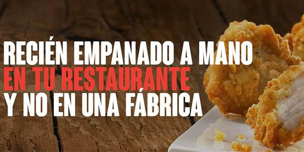 KFC oferta menús pollo abril 2019
