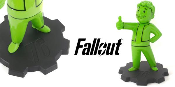 Lámpara LED Fallout 76 Vault Boy barata en Zavvi