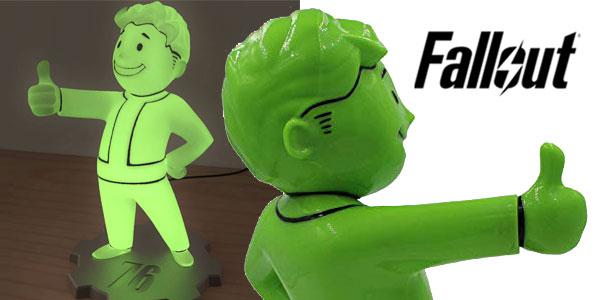 Lámpara LED Fallout 76 Vault Boy chollo en Zavvi