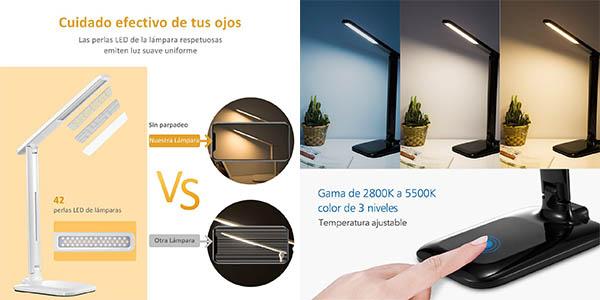 lámpara flexo LED regulable VicTsing oferta Amazon
