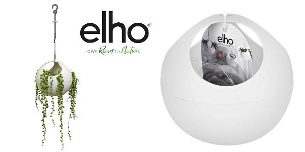 Maceta para plantas colgantes elho B. For Soft Air blanca barata en Amazon