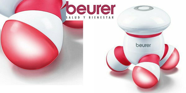 Masajeador vibratorio Beurer MG16 con luz LED barato en Amazon