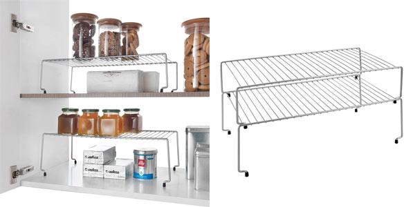 Metaltex Sky estante apilable para cocina al mejor precio en Amazon