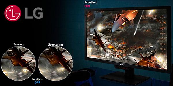 "Monitor gaming LG 27MK400H de 27"" Full HD barato"