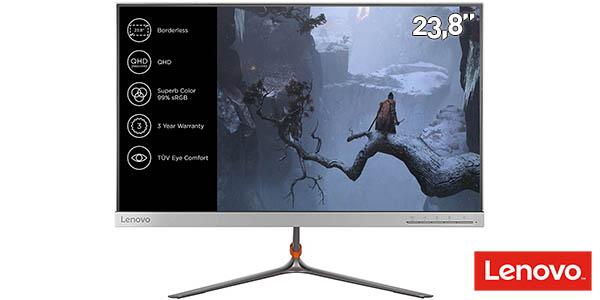 Monitor LED Lenovo L24q-10 de 23,8'' QHD