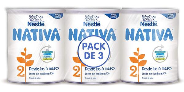 Nestle Nativa 2 leche continuación polvo 6 meses
