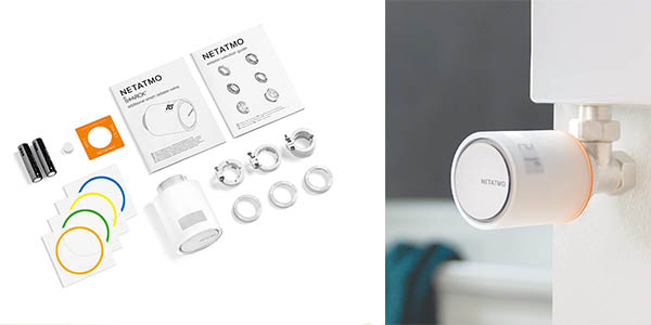 Netatmo NAV-ES válvula inteligente para calefacción barata