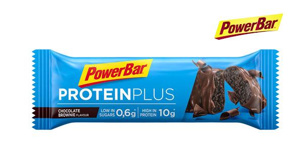 Pack de 30 Barritas PowerBar Protein Plus Low Sugar Chocolate Brownie chollo en Amazon