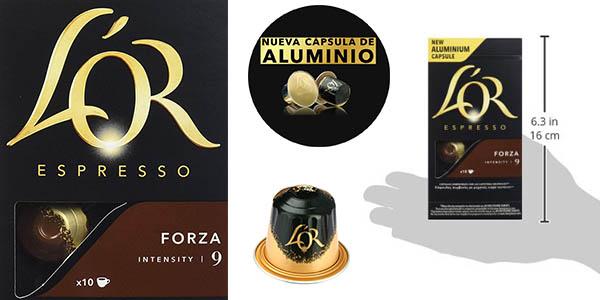 pack ahorro en cápsulas L'OR Espresso Forza intensidad alta