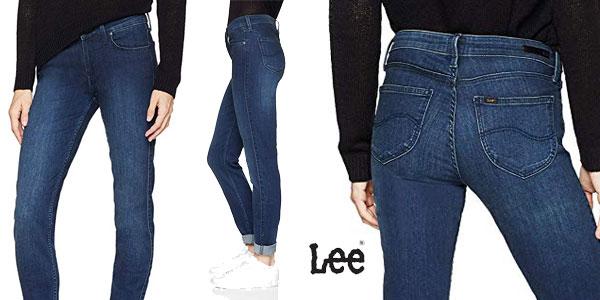 Pantalones vaqueros Lee Scarlett para mujer baratos en Amazon