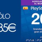 Tarjeta Prepago PlayStation Store PSN de 20€