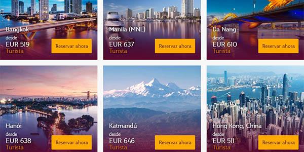 Qatar Airways ofertas junio 2019