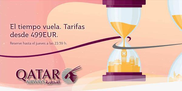 Qatar Airways ofertas en vuelos a Asia verano 2019