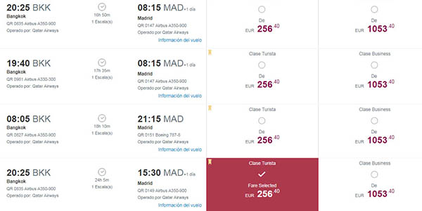 Qatar Airways vuelos baratos a Asia junio 2019