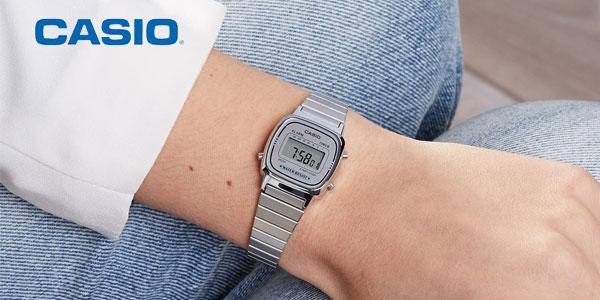 Reloj Digital CASIO LA-670WA-7 para mujer chollo en Amazon