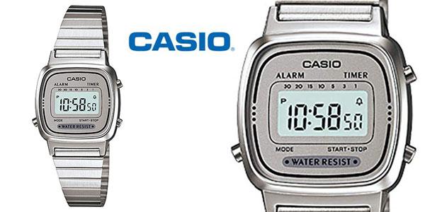 Reloj Digital CASIO LA-670WA-7 para mujer barato en Amazon